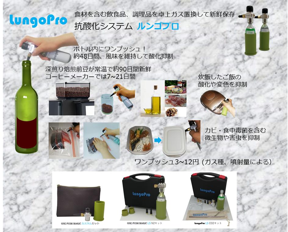 抗酸化ガスルンゴシリーズの開発5